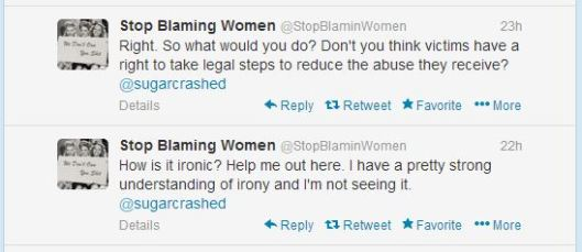 stopblamingwomenirony