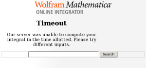 Mathematica can't handle it